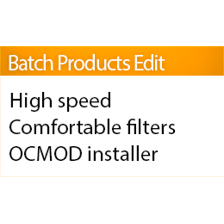 Batch Products Editor (Mass product update)