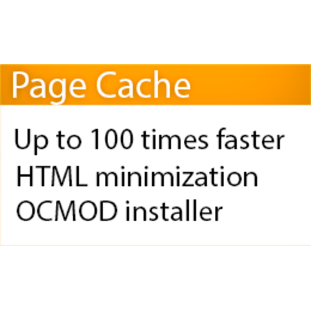 Light Page Cache + HTML minimization